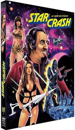 Starcrash - Le choc des étoiles (1978) (Digipack, Blu-ray + 2 DVD)