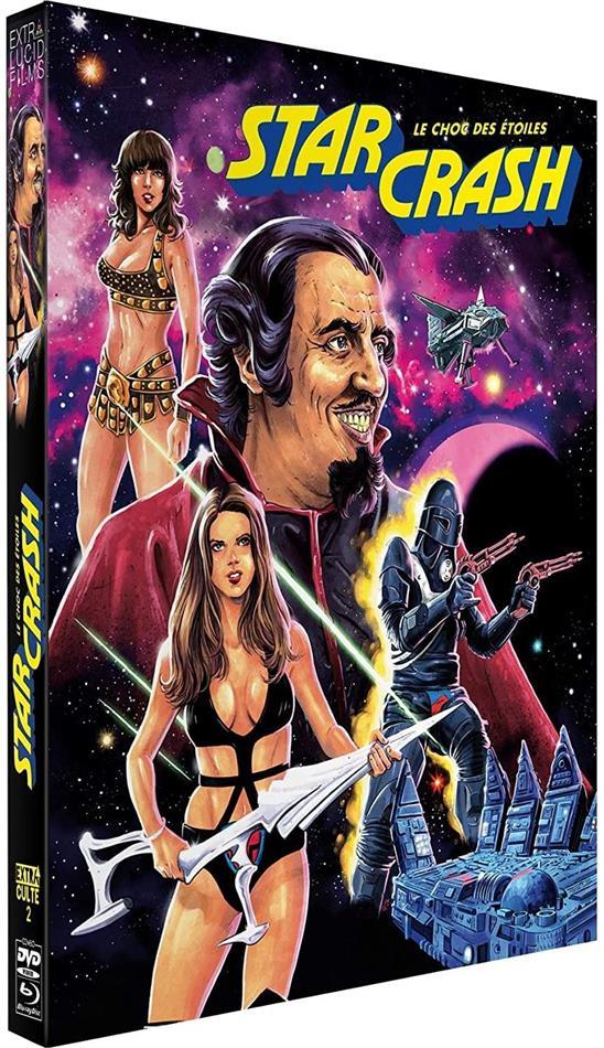 Starcrash - Le choc des étoiles (1978) (Digipack, Blu-ray + 2 DVDs)