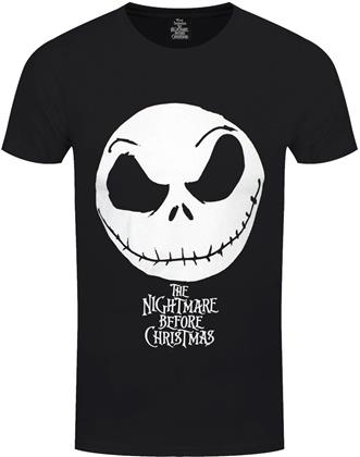 The Nightmare Before Christmas - Jack Face & Logo - Men's T-Shirt