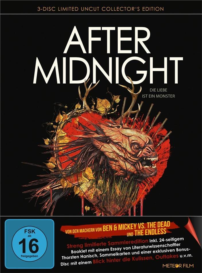 After Midnight - Die Liebe ist ein Monster (2019) (Collector's Edition Limitata, Mediabook, Uncut, 2 Blu-ray + DVD)