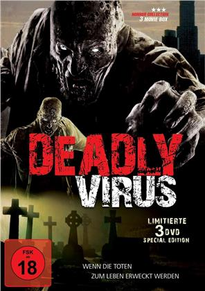 Deadly Virus - 3 Movie Box - Blutlinie / Stadtratten / Zombie Virus (Limited Special Edition, Uncut, 3 DVDs)