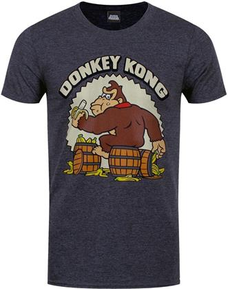 Nintendo: Donkey Kong - Bananas - Men's Heather Grey T-Shirt