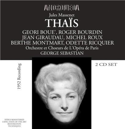 Geori Boue, Roger Bourdin, Jules Massenet (1842-1912), George Sebastian & Orchestre de l'Opera de Paris - Thaïs (Remastered)