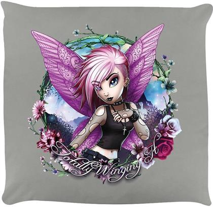 Hexxie Violet - Totally Winging It - Cushion