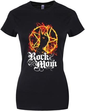 Rock Mom - Ladies T-Shirt