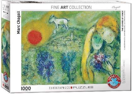 Marc Chagall: Die Liebenden von Vence