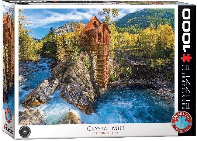 Crystal Mill - 1000 Piece Puzzle