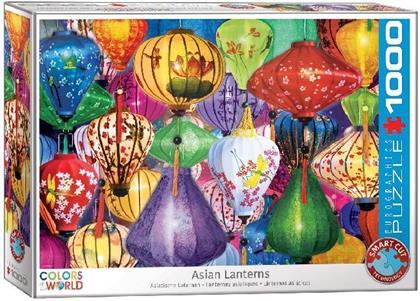 Asiatische Laternen - 1000 Teile Puzzle
