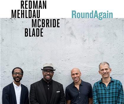 Joshua Redman, Brad Mehldau, Christian McBride & Brian Blade - RoundAgain (LP)