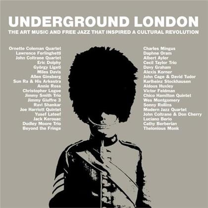 Underground London ~ The Art Music And Free Jazz That Inspired A Cultural Revolution (3 CDs)
