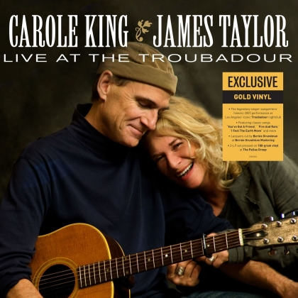 Carole King & James Taylor - Live At The Troubadour (Concord Records, 2021 Reissue, 2 LPs)