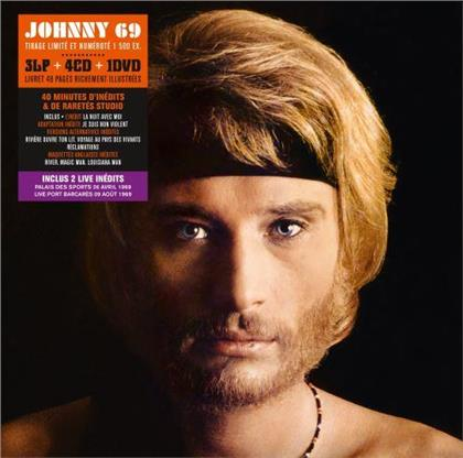 Johnny Hallyday - Johnny 69 (Collectors Edition, Limited Edition, 3 LPs + 4 CDs + DVD)