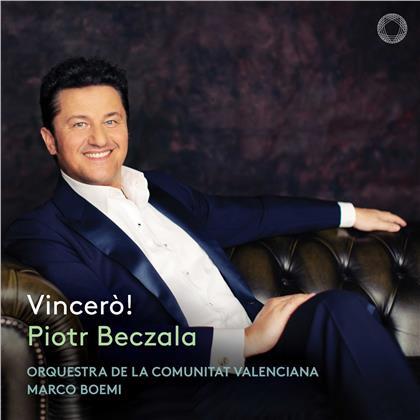 Marco Boemi, Piotr Beczala & Orquestra de la Comunitat Valenciana - Vincero! (Digipack, Hybrid SACD)