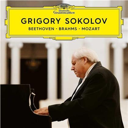 Ludwig van Beethoven (1770-1827), Johannes Brahms (1833-1897), Wolfgang Amadeus Mozart (1756-1791) & Grigory Sokolov - Beethoven/Brahms/Mozart (2 CDs)