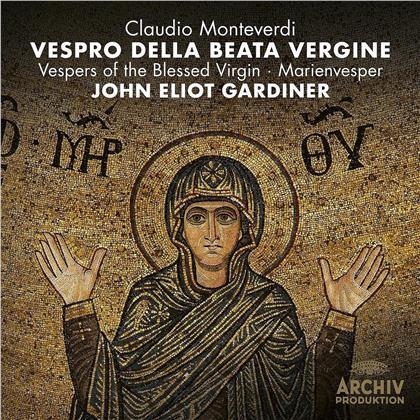 Claudio Monteverdi (1567-1643), Sir John Eliot Gardiner, English Baroque Soloists & Monteverdi Choir - Vespro Della Beata Vergine (CD + DVD)