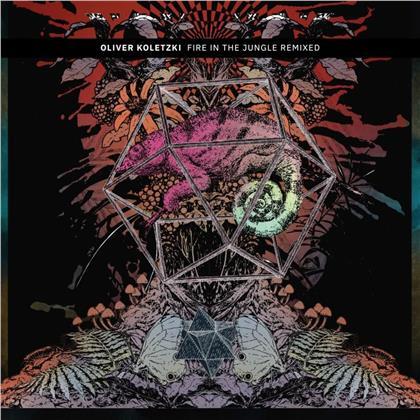 """Oliver Koletzki - Fire In The Jungle (Colored, 12"""" Maxi + Digital Copy)"""