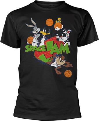 Space Jam - Group (Black)