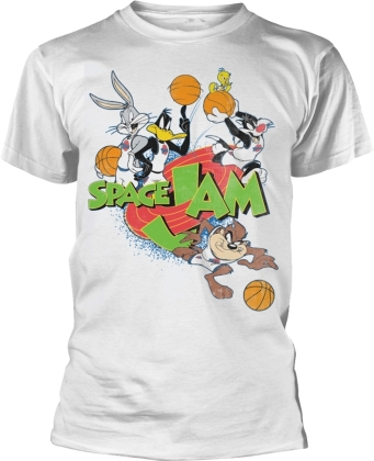 Space Jam - Group (White)