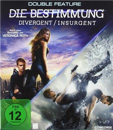 Divergent - Die Bestimmung Teil 1 & 2 - Divergent / Insurgent (2 Blu-rays)