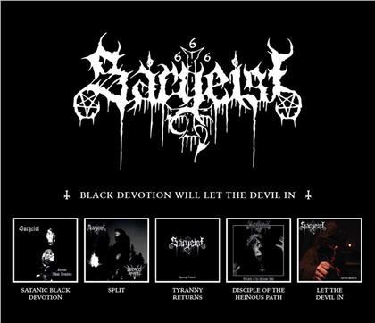 Sargeist - Black Devotion Will Let The Devil In (5 CDs)