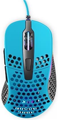 Xtrfy M4 RGB Gaming Mouse - blue