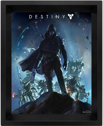 Destiny 2 - On The Edge - 3D Framed Lenticular Poster