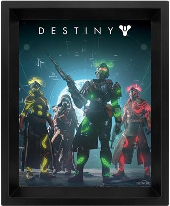 Destiny 2 - Gambit - 3D Framed Lenticular Poster