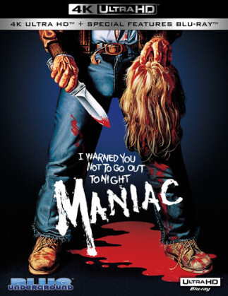 Maniac (1980) (4K Ultra HD + Blu-ray)