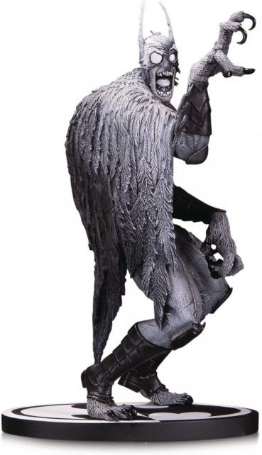 Dc Collectibles - Batman Black & White Statue Batmonster By Capullo