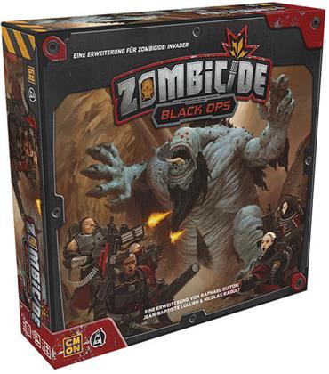 Zombicide: Invader - Black Ops Erweiterung