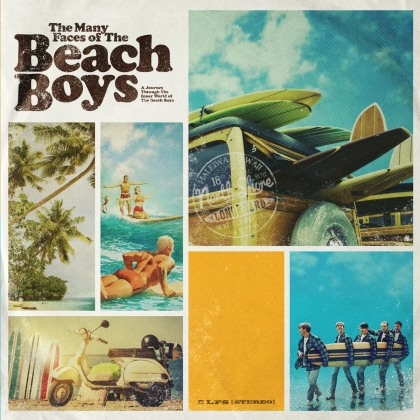 The Beach Boys - The Many Faces Of The Beach Boys (Limited, Gatefold, Yellow/Blue Vinyl, LP)