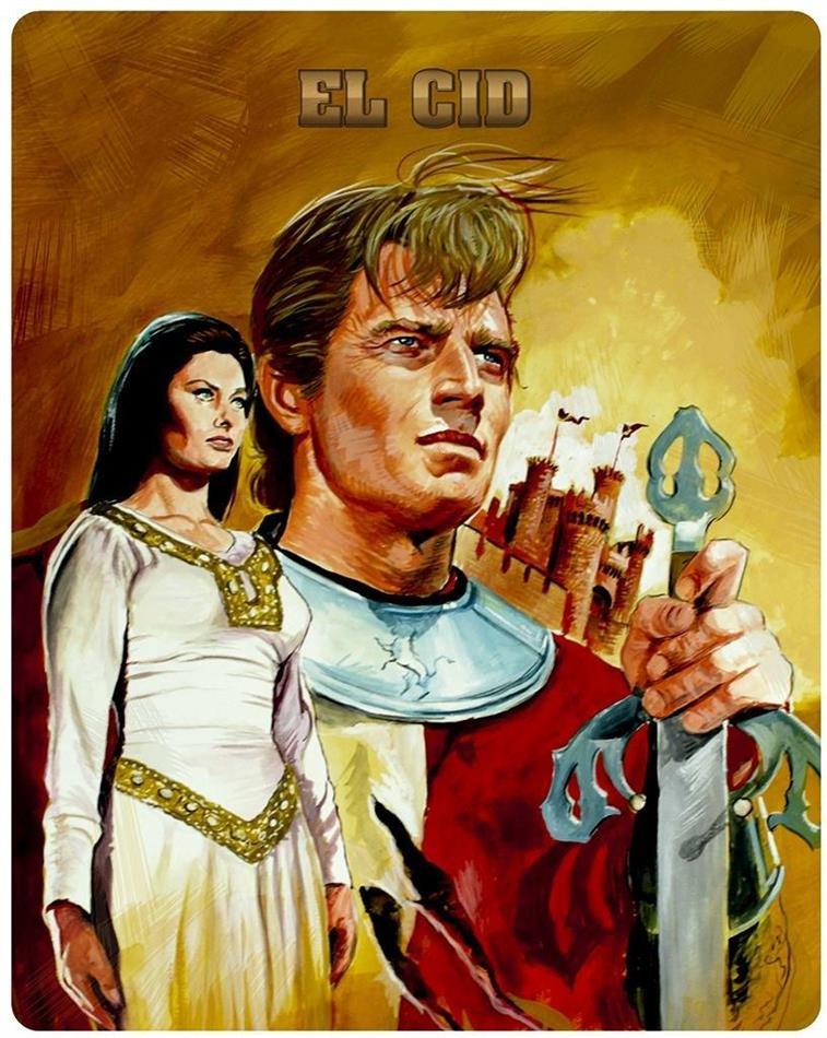 El Cid (1961) (Novobox Klassiker Edition, FuturePak, Limited Edition)