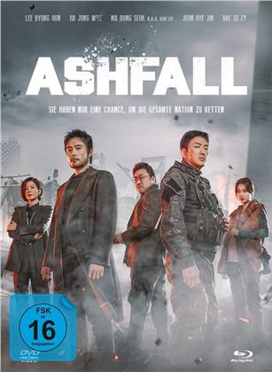 Ashfall (2019) (Collector's Edition Limitata, Mediabook, Blu-ray + DVD)