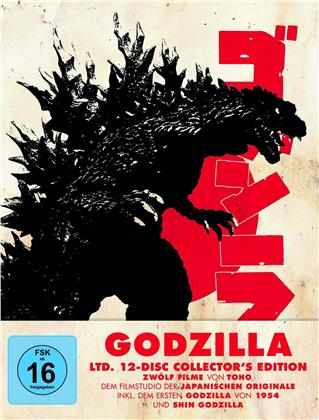 Godzilla - 12 Filme (Limited Collector's Edition, 12 Blu-rays)