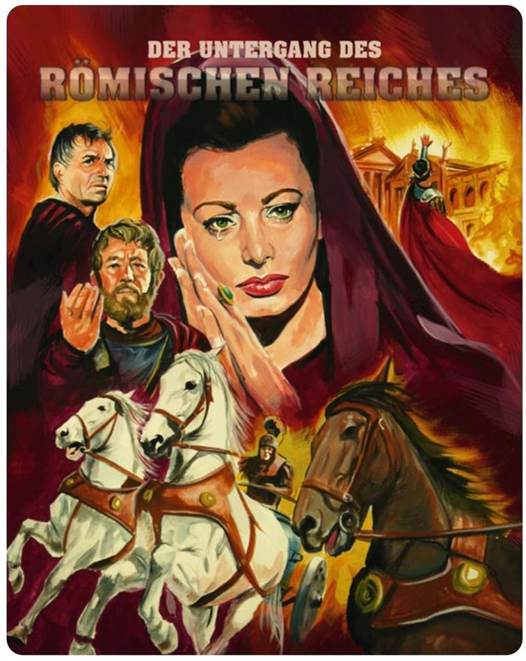 Der Untergang des Römischen Reiches (1964) (Novobox Klassiker Edition, FuturePak, Limited Edition)