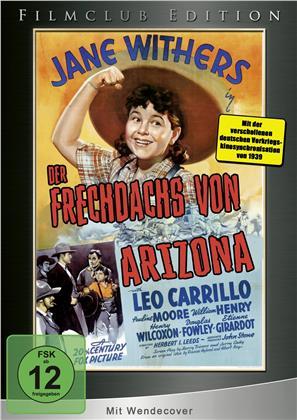 Der Frechdachs von Arizona (1939) (Filmclub Edition, Limited Edition)