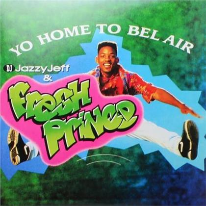 """DJ Jazzy Jeff & Fresh Prince - Yo Home To Bel Air / Parents Just Don't Understand (2020 Reissue, Enjoy The Ride, Limited, Papersleeve Limited Edition, Colored, 12"""" Maxi)"""