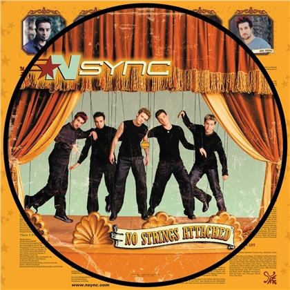 N-Sync - No Strings Attached (2020 Reissue, 20th Anniversary Edition, Picture Disc, LP)