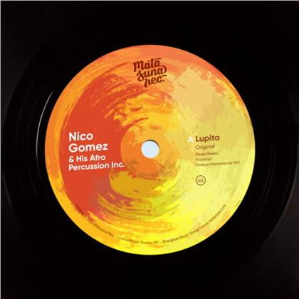 "Nico Gomez & His Afro Percussion Inc. - Lupita (7"" Single)"