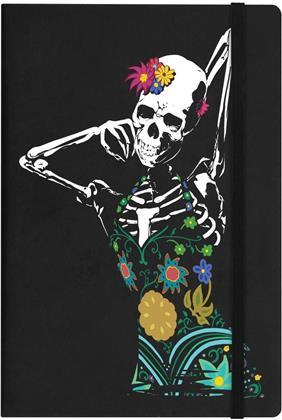 Sassy Skeleton - A5 Hard Cover Notebook