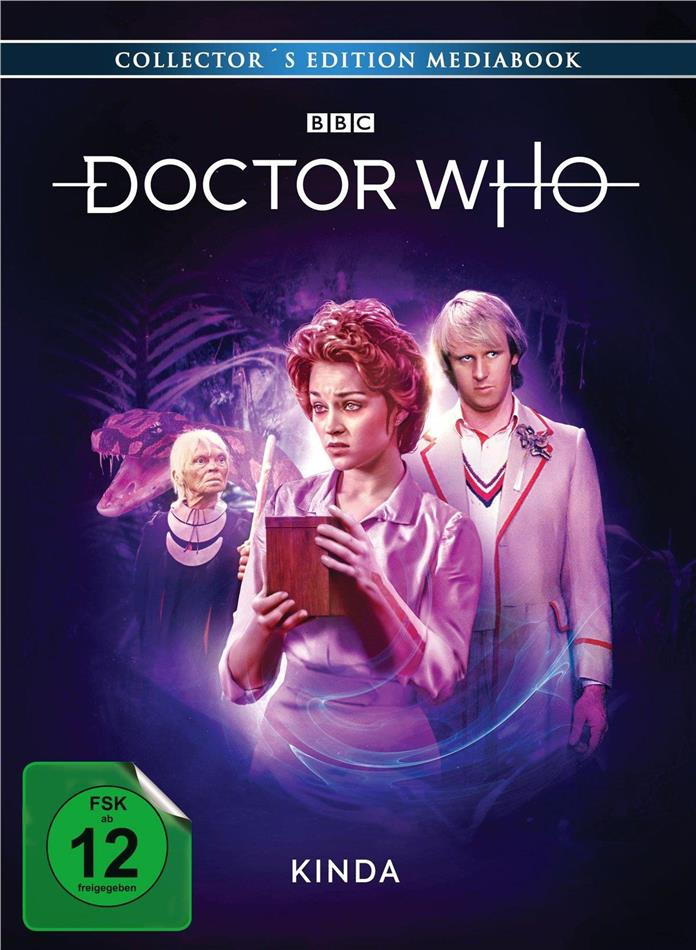 Doctor Who - Kinda (BBC, Limited Collector's Edition, Mediabook, Blu-ray + DVD)