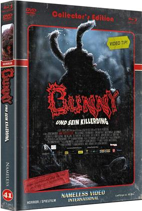Bunny und sein Killerding (2015) (Cover C, Limited Edition, Mediabook, Uncut, Blu-ray + DVD)