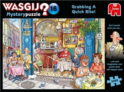 Puzzle Wasgij Mystery 18 - 1000 Teile