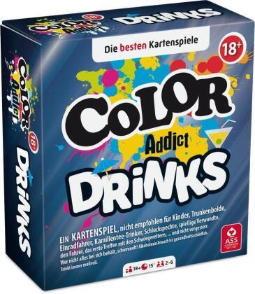 Color Addict - Drinks (Kartenspiel)