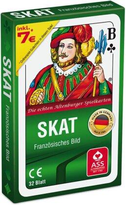 Skat - französisches Bild in Faltschachtel