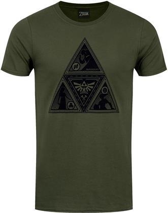Nintendo: The Legend of Zelda - Triforce Deco - Men's T-Shirt