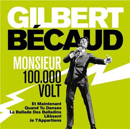 Gilbert Becaud - Monsieur 100.000 Volts (2 CDs)