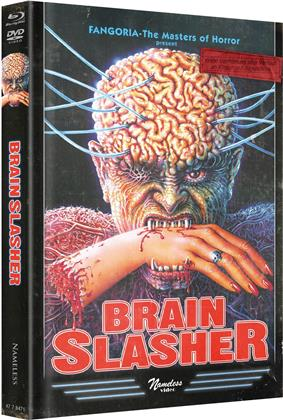 Brain Slasher (1992) (Wattiert, Limited Edition, Mediabook, Uncut, Blu-ray + DVD)