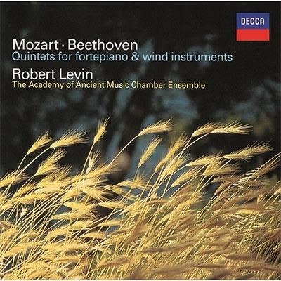 Ludwig van Beethoven (1770-1827), Wolfgang Amadeus Mozart (1756-1791) & Robert Levin - Quintets For And Wind Instruments (UHQCD, Limited, Japan Edition, Remastered)