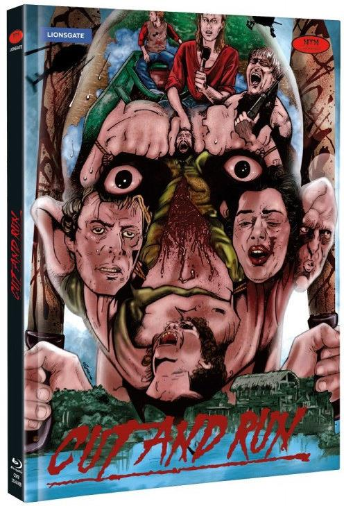 Cut and Run (1985) (Limited Edition, Mediabook, Uncut, Blu-ray + DVD)
